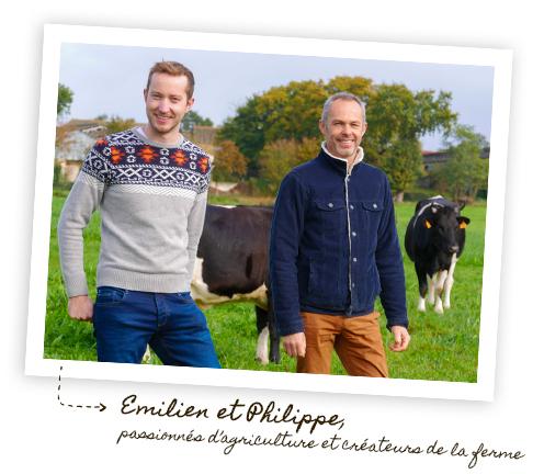 Emilien Mondher et Philippe Marchand sont les créateurs de la fromagerie Le gros chêne, une ferme urbaine près de Rennes