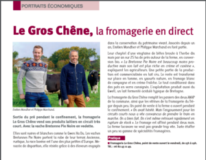 Article - Ferme le gros chêne - Betton novembre 2020